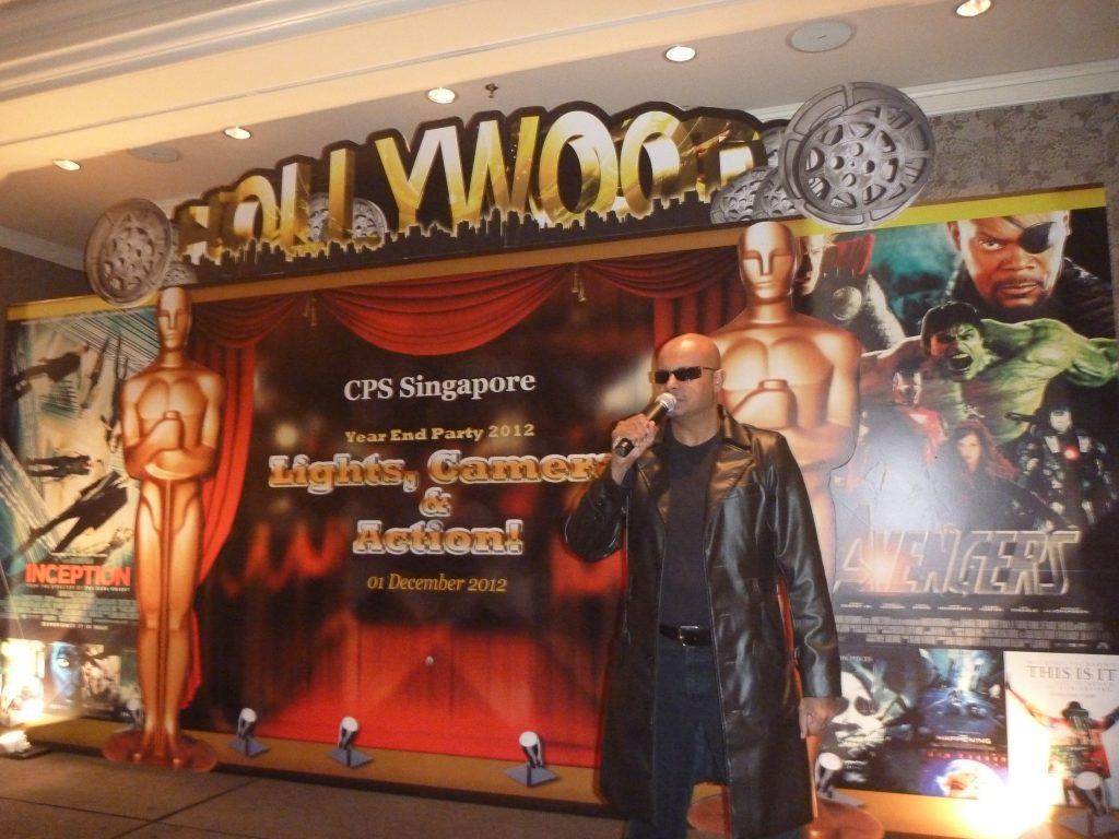 professional MC in Singapore