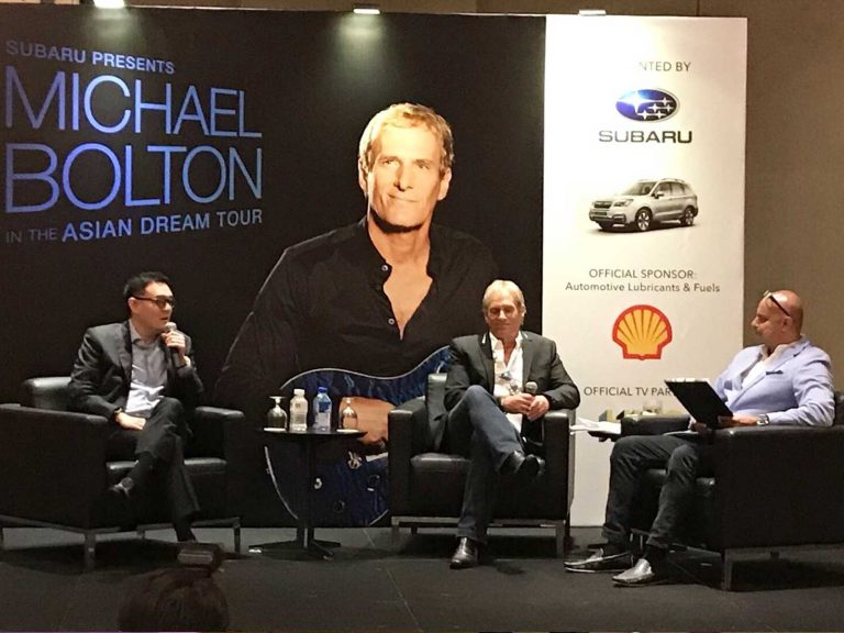 emcee rico Michael bolton interview session