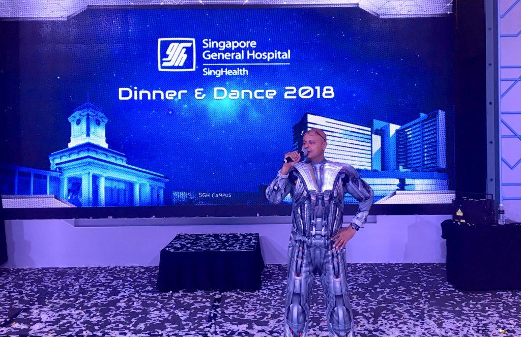 professional MC singapore